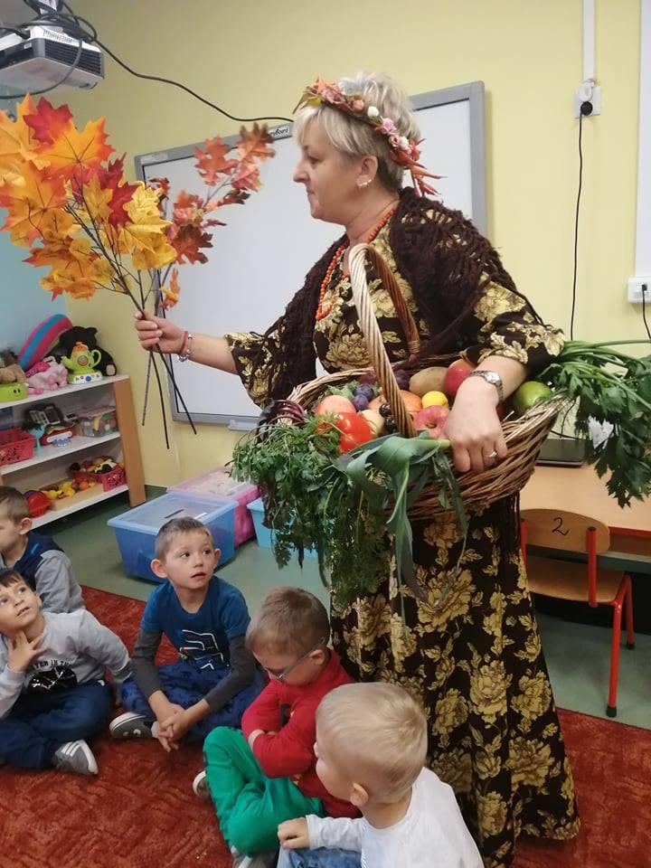Powitanie jesieni w przedszkolu